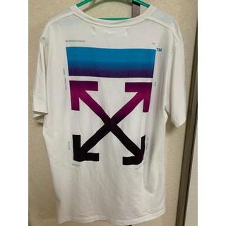 OFF-WHITE - 早い者勝ち!!OFF-WHITE tシャツ グラデーション 希少XLサイズ