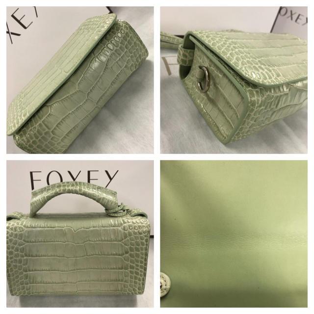 FOXEY(フォクシー)の★ご専用です★  Princess  Kate  バッグ ミント  レディースのバッグ(ハンドバッグ)の商品写真