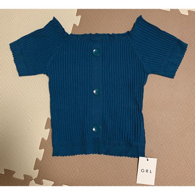 GRL(グレイル)のGRL 半袖 トップス レディースのトップス(カットソー(半袖/袖なし))の商品写真