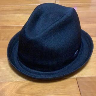 カンゴール(KANGOL)の【未使用品】KANGOL TROPIC PLAYER HAT BLACK(ハット)