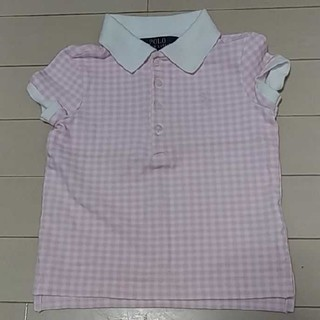ポロラルフローレン(POLO RALPH LAUREN)のポロ ラルフローレン  ピンクポロシャツ 4T(Tシャツ/カットソー)