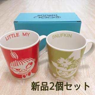 リトルミー(Little Me)のムーミン⭐︎ミー&スナフキン マグカップ (グラス/カップ)