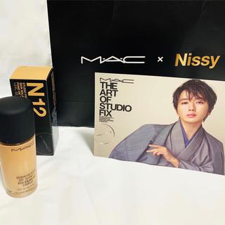 マック(MAC)の【MAC×Nissy】スタジオ フィックス フルイッド SPF15 N12(ファンデーション)