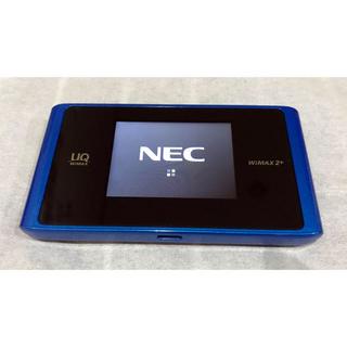 安心!NEC国産SIMフリー版!モバイルWi-FiルーターWX04!動作確認済!