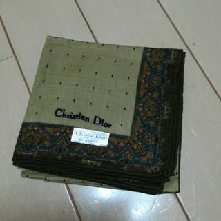 クリスチャンディオール(Christian Dior)のDior 新品 紳士用ハンカチ(ハンカチ/ポケットチーフ)