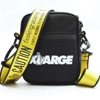 エクストララージ(XLARGE)のFR2 XLARGE コラボ ショルダーバッグ 黒 新品 未使用(ショルダーバッグ)