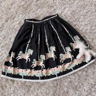 シャーリーテンプル(Shirley Temple)の今週限定 レア Merry Go Round skirt(スカート)