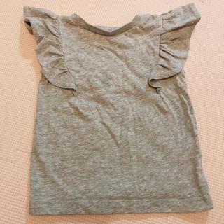 ブリーズ(BREEZE)のBREEZE♡フリルTシャツ♡100(Tシャツ/カットソー)