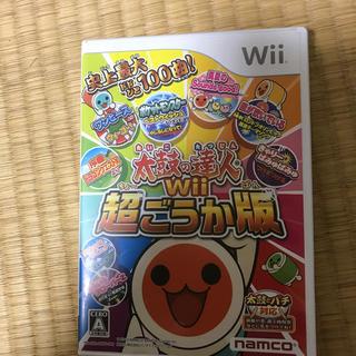 バンダイ(BANDAI)の太鼓の達人Wii Wii(家庭用ゲームソフト)
