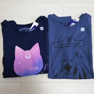 GU - セーラームーン Tシャツ 2枚セット Mサイズ GU