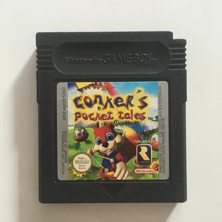 ゲームボーイアドバンス(ゲームボーイアドバンス)の【日本未発売】 Conker's Pocket Tales ゲームボーイ(携帯用ゲームソフト)