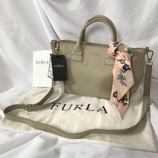 フルラ(Furla)の【証明書・保存袋付き】フルラ ショルダーバッグ 2way ホワイト ツイリー(ショルダーバッグ)