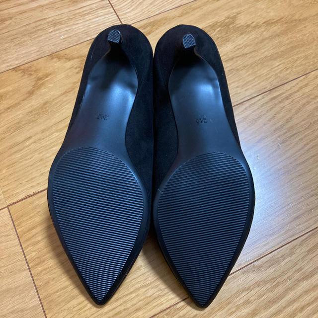 GU(ジーユー)のGU マシュマロパンプス 黒 レディースの靴/シューズ(ハイヒール/パンプス)の商品写真