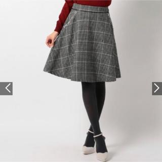 ミッシュマッシュ(MISCH MASCH)のチェックスカート(ひざ丈スカート)
