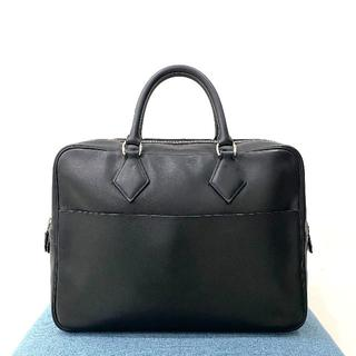 Hermes - 美品 HERMES エルメス プリュムドッグ 38 ビジネスバッグ 黒