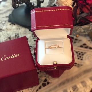 カルティエ(Cartier)の美品 カルティエ  エタンセル エタニティリング 定価55万円(リング(指輪))
