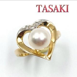 タサキ(TASAKI)の田崎真珠 パールリング 指輪 K18(その他)