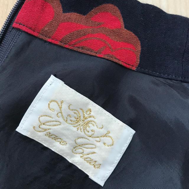 GRACE CONTINENTAL(グレースコンチネンタル)のGrace Class  グレースクラス ローズ柄 花柄 ワンピース 長袖 レディースのワンピース(ひざ丈ワンピース)の商品写真