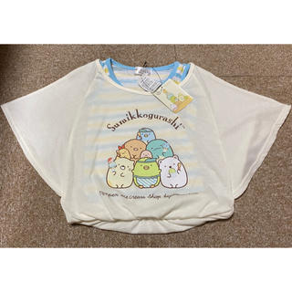 サンエックス(サンエックス)の新品 すみっコぐらし ♡ 半袖 Tシャツ 100cm(Tシャツ/カットソー)