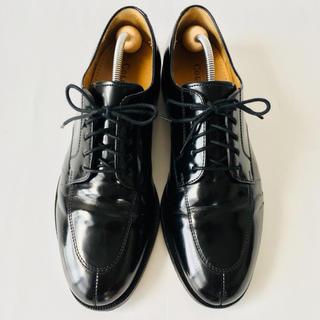 コールハーン(Cole Haan)の【美品】コールハーン 革靴 Uチップ 26.5cm 除菌・消臭済み(ドレス/ビジネス)