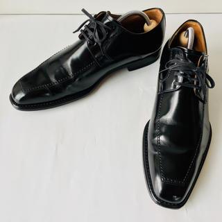 REGAL - 【美品】REGAL リーガル 革靴 Uチップ 黒 24.5cm 除菌・消臭済み