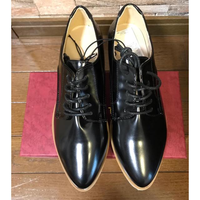 GU(ジーユー)の新品!GU ポインテッドオックスフォード Mサイズ レディースの靴/シューズ(ローファー/革靴)の商品写真
