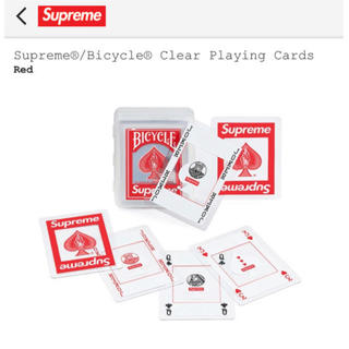 Supreme®︎/ Bicycle®︎ Clear Playng Cards(トランプ/UNO)
