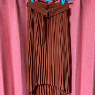リップサービス(LIP SERVICE)のプリーツスカートとシャツセット(ロングスカート)