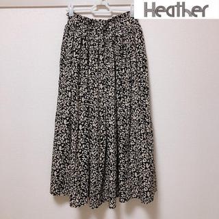 ヘザー(heather)のHeather ロングスカート フリーサイズ(ロングスカート)