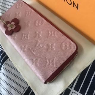 ルイヴィトン(LOUIS VUITTON)のルイヴィトン ポルトフォイユ・クレマンス 長財布(財布)