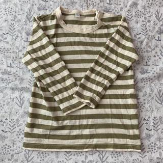 ムジルシリョウヒン(MUJI (無印良品))の\最終値下げ*/ 無印良品 MUJI ボーダー ロンT(Tシャツ/カットソー)