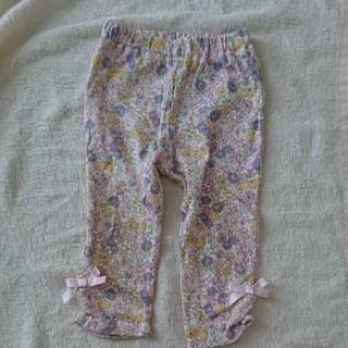 プティマイン(petit main)の花柄 レギンス パンツ 80 PinkyFlash ピンキーフラッシュ 綿100(パンツ)