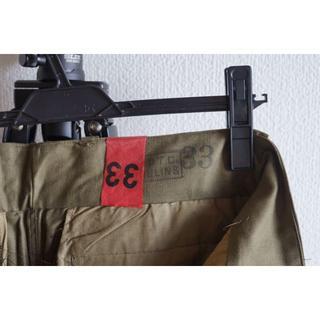 COMOLI - 激レア 33サイズ デッド M47 前期 カーゴパンツ フランス軍 M-47