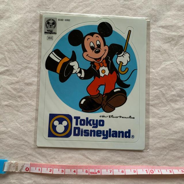 Disney(ディズニー)のディズニーランド ミッキーマウス シール 未開封未使用品 エンタメ/ホビーのおもちゃ/ぬいぐるみ(キャラクターグッズ)の商品写真