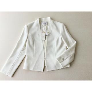 23区 - 雨の日セール!新品 ◆36,300円(税込)タグ付き 23区 ジャケット 白