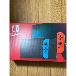NINTENDO Switch 本体 新品未開封 ネオンブルーネオンレッド