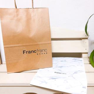 フランフラン(Francfranc)の【コメントなしの即購入OK!】Francfranc* ੈ♡ラッピング2点セット✧(ショップ袋)
