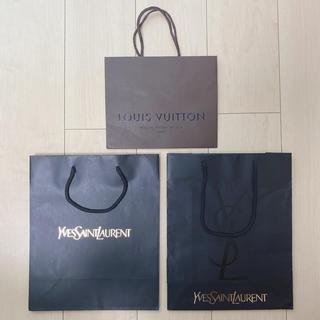 イヴサンローランボーテ(Yves Saint Laurent Beaute)の新品未使用♥ YSL LOUISVUITTON ショップ袋(ショップ袋)