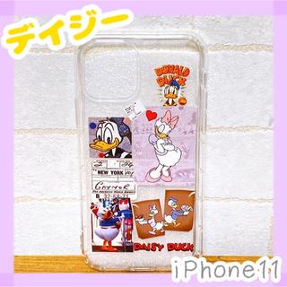 Disney - 【iPhone11ケース】デイジー♡送料無料!ドナルド