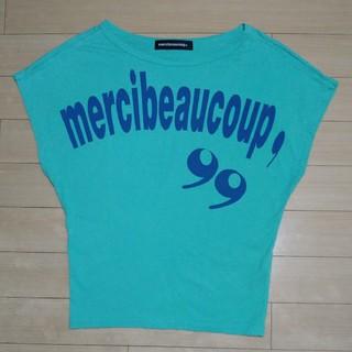 メルシーボークー(mercibeaucoup)のmercibeaucoup,カンマちゃんTシャツ(Tシャツ(半袖/袖なし))
