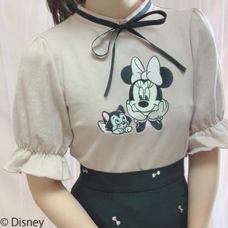 着るだけで可愛いミニーちゃんトップス♡ピンク♡ディズニーコラボ新宿店限定商品♡