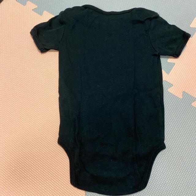 HYSTERIC MINI(ヒステリックミニ)のヒスミニ  ロンパース ブラック 80   キッズ/ベビー/マタニティのベビー服(~85cm)(ロンパース)の商品写真