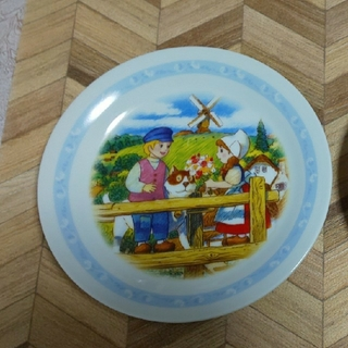 山崎製パン - フランダースの犬 絵皿 皿 プレート