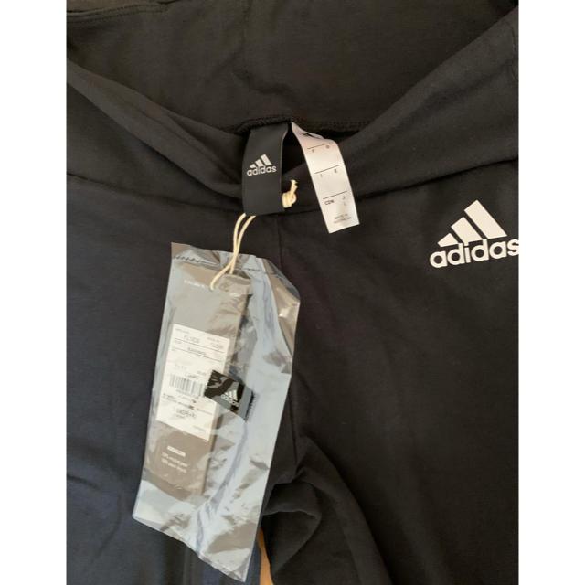 adidas(アディダス)のadidas 新品未使用 レギンス 1本ライン スパッツ ストレッチ レディースのレッグウェア(レギンス/スパッツ)の商品写真