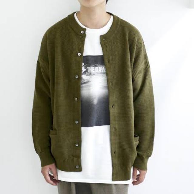COMOLI(コモリ)のYASHIKI 18AW HISETSU CARDIGAN メンズのトップス(カーディガン)の商品写真