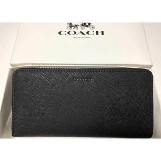 COACH - 新品未使用品★コーチ サフィアーノレザー 長財布 F74769 ブラック