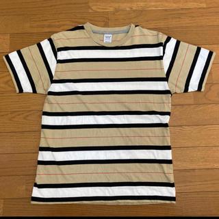 スピンズ(SPINNS)のTシャツ ボーダー(Tシャツ/カットソー(半袖/袖なし))