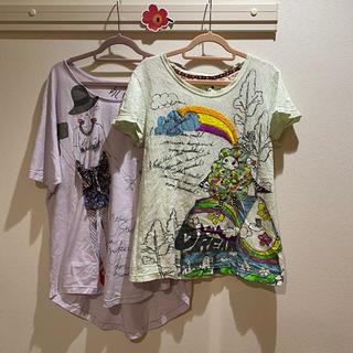 スカラー(ScoLar)のscalar Tシャツ 2枚セット Mサイズ(Tシャツ(半袖/袖なし))