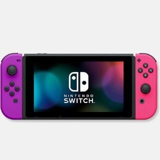 Nintendo Switch - ニンテンドーSwitch 本体 限定 パープル×ピンク ニンテンドーストア