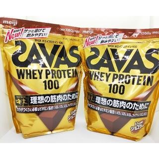 ザバス(SAVAS)のSAVAS  ザバス ホエイプロテイン100 リッチショコラ味 二袋 (プロテイン)